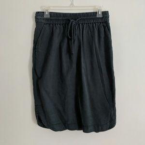 EUC LOFT cotton blend skirt